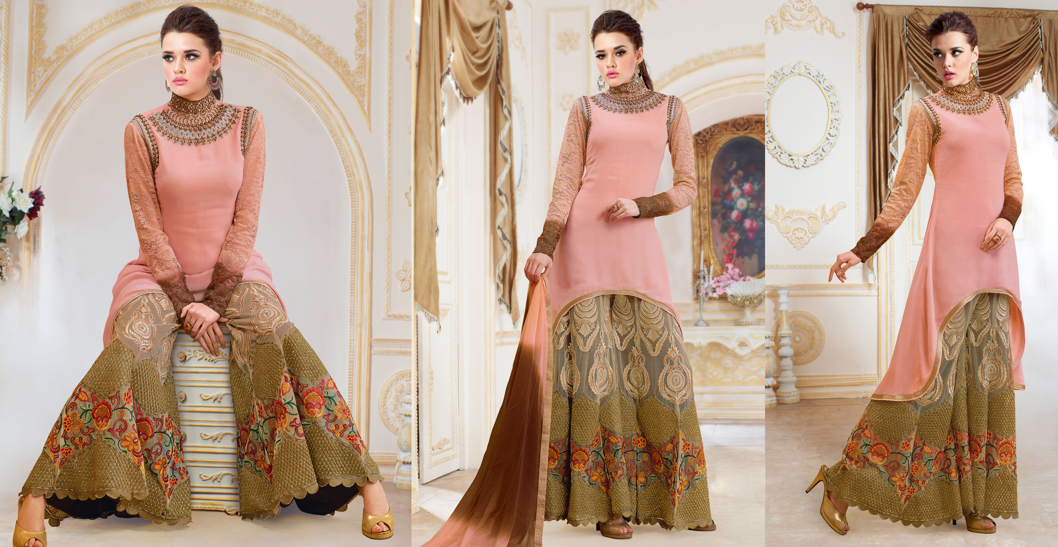 Palazzo Salwar Kameez A New Fashion Statement Of Modern