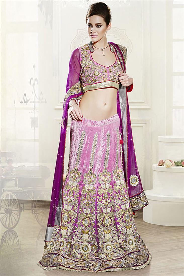 Designer Wedding Bridal Lehenga