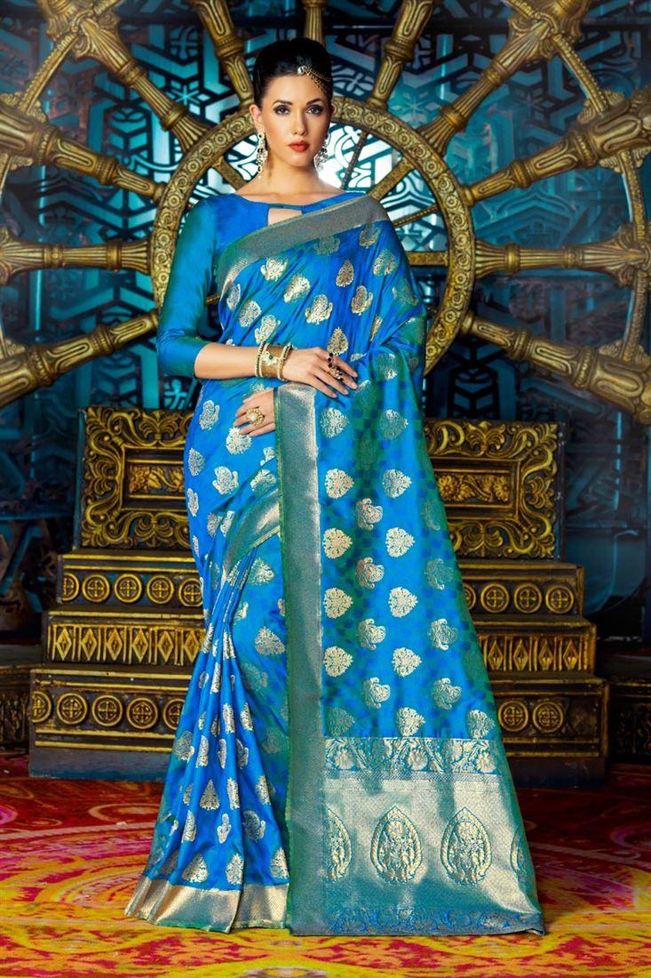 SareesBazaar Silk Saree