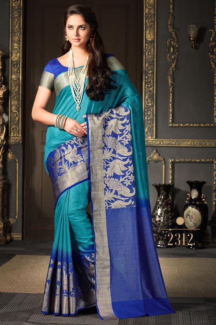 SareesBazaar Designer Silk Sarees